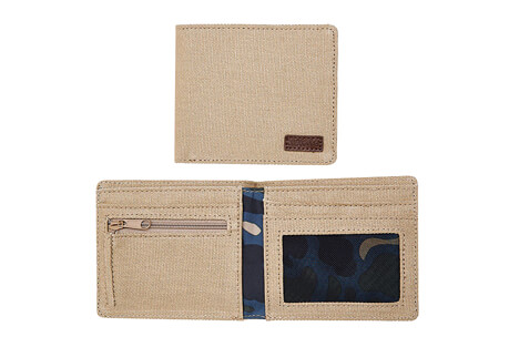Nixon Atlas Showdown Canvas Bi-Fold Wallet