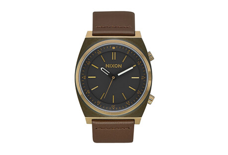 Nixon Brigade Leather Watch