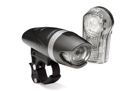 planet bike blaze 1 watt / superflash light set- Save 41% Off - The Planet Bike Blaze 1 Watt/Superflash light set allows riders to be seen in low light conditions. Perfect for those short commutes or rides around town, The QuickCam bracket mounts easily adjusts or removes without tools. All batteries included  Features:  - Blaze 1-watt LED is twice as bright as 1/2-watt LED  - Reinforced alloy midsection  - High and low power beam along with SuperFlash(TM) flashing mode  - QuickCam(TM) bracket mounts, adjusts or removes in seconds w/o tools  - High/low/flashing run times of 7/14/20 hours on 2 AA batteries (included)    Superflash features:  - 1/2-watt Blaze(TM) LED plus 2 eXtreme LEDs for visibility up to 1 mile  - Unique, eye-catching flash pattern  - Up to 100 hours of run time on 2 AAA batteries (included)