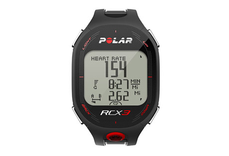 polar rcx3 gps hr watch- Save 59% Off - For runners, cyclists and fitness enthusiasts who want guidance to reach their goals.  Features:  - GPS-compatible (GPS sensor not included)  - Training Benefit gives you instant feedback after your session  - Smart Coaching features include: Fitness testing, training load monitoring, running index to show performance, motivating feedback, endurance programs, Smart Calories, and ZoneOptimizer for intensity.  - Helps you train at the right intensity with personal sport zones  - Improves performance with endurance training programs, downloadable for free from polarpersonaltrainer.com with the Polar DataLink  - Compatible with Polar running, cycling and GPS sensors  - Backlight  - Date and weekday indicator  - Display text in English, German, French,   - Spanish, Portuguese, Italian, Dutch, Danish, Finnish, Norwegian and Swedish  - Dual time zone  - Button lock  - Low battery indicator  - Time of day (12/24h) with alarm and snooze  - User replaceable battery  - Water resistant - 30m  - In the box: Polar RCX3 training computer, Polar H3 heart rate sensor, and RCX3 Getting Started Guide.