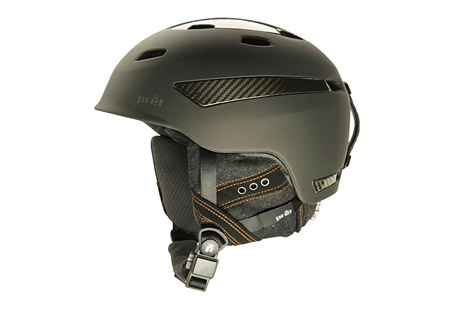 pret carbon effect helmet - 2015- Save 64% Off - Pret's highest performing helmet, the Effect Carbon, provides completely adjustable ventilation for all conditions. With 13 external and 19 internal vents, VTT3 is simply the best temperature control system available. Light weight and compact, the Effect Carbon features the new ACT technology construction and the RCS fit system.  Features:  - VTT3 * ACT Technology Construction  - RCS Fit System  - Covert Ear Cover System  - X Static XT, Wool Blend  - Audio ready  - SNAP Fidlock Magnetic Buckle System  - 13 external and 19 internal vents  - ATSM F2040, CE EN1077   - Model Year: 2015  Sizes:  - Small: (51 - 55cm)  - Medium: (55 - 59cm)  - Large: (59 - 62cm)