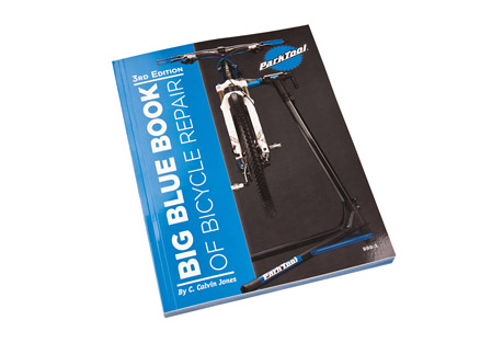 park tool bbb-3: big blue book bicycle repair and maintenance guide- Save 10% Off - Updated with new information, techniques, photos, procedures, and components, the BBB-3 3rd Edition is a complete repair manual created to provide both the novice and veteran mechanic the information needed to perform nearly any repair from trailside repairs to complete overhauls. Written by Park Tool Director of Education, Calvin Jones, the Big Blue Book is the perfect reference guide and step-by-step repair manual for nearly any bike, including road, mountain, bmx, and single-speed. We wrote the book on bicycle repair.  Features:  - Thru-axle systems  - Tubeless tire conversion systems  - 11-speed SRAM(R) XX1(R) freehub removal/installation  - BB30 crankset system  - PF30 bottom bracket system  - Specialized(R) S-Works(R) cranks  - Campagnolo(R) Power Torque(TM) systems  - BB86 and BB92 bottom brackets  - 11-speed chains  - 11-speed Campagnolo(R) chain installation  - 11-speed derailleurs  - Shimano(R) Di2(R) electronic shifting  - Campagnolo(R) EPS(R) electronic shifting  - SRAM(R) Red(R) derailleur adjustments  - Shimano(R) 9000 derailleur adjustments  - SRAM(R) and Shimano(R) clutch type rear derailleurs  - Tektro(R) hydraulic brakes  - Headset standards and SHIS standards  - Updated torque tables  - Updated tool tables