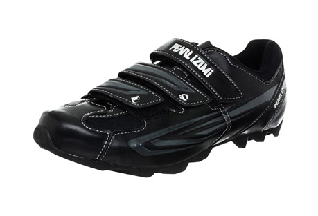 pearl izumi all-road ii clipless mountain bike shoes - men's- Save 52% Off - Featuring Lightweight stiffness, durability, and SPD compatability, the Men's All-Road II from Pearl Izumi are the perfect purchase for spin class or road cycling.   Features:  - 1:1 Anatomic Closure: follows the natural anatomic shape of the foot to eliminate hot spots and remove pressure from your instep  - SELECT 1:1 Power Plate: SELECT Grade Nylon and Composite Fiber plate for lightweight stiffness and durability; concave shaping for enhanced plate stiffness and anatomic support. Low-profile bottom for an indoor/outdoor look and feel.  - SELECT Insole: provides excellent Longitudinal and Transverse Arch Support  - SPD Compatible  - Weight: 370g size 43  - Last Chance:  Discontinued Style