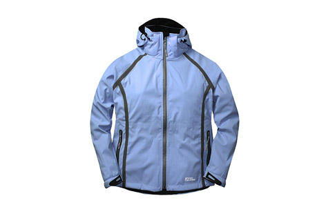 Red Ledge Mirage Softshell Jacket - Wms - powder blue, medium