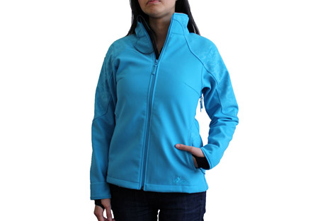 Red Ledge Vindication Softshell Jacket - Wms - hawaiian oc, x-large