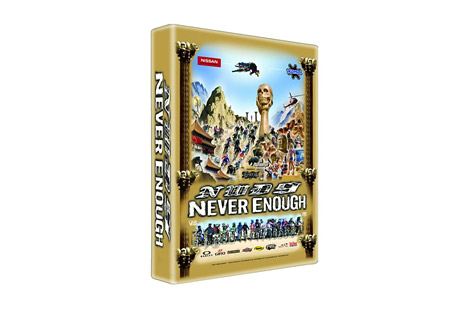nwd 9 never enough mountain bike dvd- Save 35% Off - New World Disorder is back with its 9th installment, Never Enough. Picture Gee Atherton ripping the Worlds course the day after winning the race, Robbie Bourdon stomping a 70-ft flat spin, Fabien Barel dropping an insane, near vertical line in Morocco, and more, filmed exclusively in Super 16mm and High Definition.