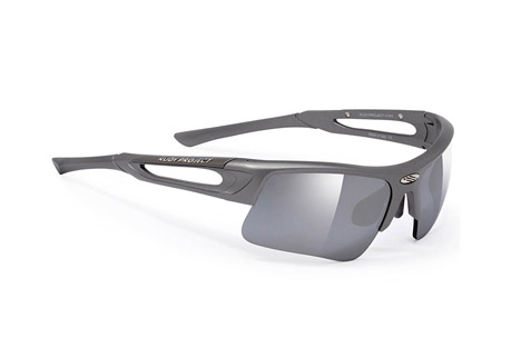 Rudy Project Exowind Sunglasses - titanium/laser black, regular fit