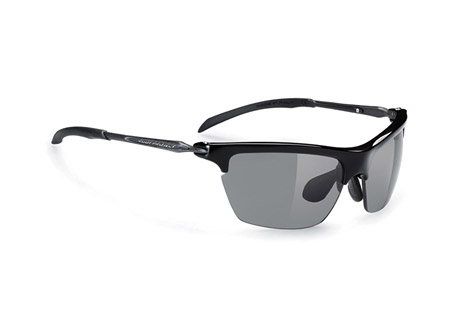Rudy Project Kylix Sunglasses - black gloss/smoke, regular fit