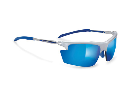 Rudy Project Kylix XY Sunglasses - silver/laser blue, regular fit