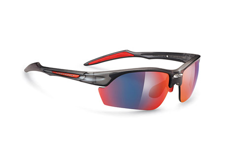 Rudy Project Swifty Sunglasses - frozen ash/multilaser red, regular fit