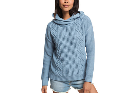 Roxy Off To Dinner Knitted Hoodie - Women's