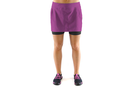 ryka pursuit running skirt - womens- Save 63% Off - Cute and sporty, the Pursuit Running Skirt from Ryka Activewear.  Features:  - Poly/Spandex blend in a running skirt style  - Built in short liner with pocket  - Wide, stretch waistband, moisture wicking and stretch will keep you cool and comfortable  - Machine wash cold, gentle cycle, tumble dry low  - Do not use softener or bleach