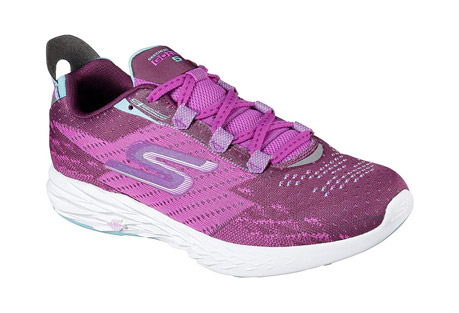 skechers go run 5 shoes - women's- Save 47% Off - The Skechers GOrun 5(TM) is the 5th generation in the Skechers GOrun(R) series of running shoes. Designed for speed, it's responsive, supportive and lightning fast. The upper uses gore construction to minimize the number of seams for an adaptive fit, with mesh for breathability and reinforced eyelets for durability. The midsole features 5GEN cushioning for a responsive ride and a 4mm drop for a more natural stride. The GoRun 5's web outsole provides lightweight traction, with a mid-foot strike zone for improved efficiency.  Features:  - Skechers GOknit(TM) upper provides security while maintaining breathability and comfort  - Secure gore construction for a seamless fit that hugs your foot  - Lightweight, responsive 5GEN(R) cushioning  - Integrated inner support strap in the midfoot ensures a stable and secure fit  - Mid-foot strike zone promotes efficiency in each stride  - Lightweight and durable parametric web outsole provides multi-surface traction  - Air mesh tongue with elastic tongue-position keeper straps for stable and secure fit  - Quick Fit feature for easy accessible on and off  - Reflective detail  - Circular knit one piece upper provides a perfect fit  - Knit-in design for distinctive look  - Side S logo  - Reinforced lacing area with top eyelet for custom lacing options  - Offset: 4mm  - Forefoot 12mm, heel 16mm midsole thickness  - Weight: 6.0 oz. per shoe in a women's size 7