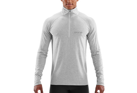 SKINS Activewear Unden Light Midlayer w/Zip - Men's