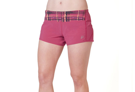 skirt sports redemption run shorts - womens- Save 54% Off - Skirt Sports' Redemption Run Shorts are designed with lightweight and wicking fabric that has UV Ray sun protection of 30+. These new run shorts offer built-in Spankies with full cheek coverage. Soft leg binding and a bonded inseam help protect against chafing. The wide, four-way stretch tummy panel features a hidden interior pocket and gives full coverage in all the right places.  Features:  - Shorts Inseam length (Medium): 4