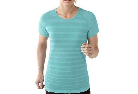 smartwool phd run ss crew - women's- Save 44% Off - Smartwool Size Chart  When you're running, the last thing you want to think about is chaffing. That's why Smartwool has engineered this garment to remove things like irritating underarm seams so you can keep your mind on your run.  Features:  - Knit in Turkey of 79% Merino Wool, 21% Nylon  - Semi-Form Fit  - Seamless construction for ultimate comfort; UPF 30  - Strategically designed raglan sleeves remove underam seams to eliminate chafing  - Varied knit textures for ventilation and body enhancing fit  - Flatlock seam construction throughout  - 360deg reflectivity  - Last Chance: Discontinued Style  - Only available to ship within the USA