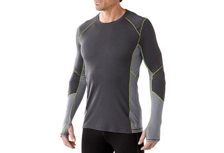 smartwool phd light long sleeve shirt - men's- Save 42% Off - Having the right gear can mean the difference between going the extra mile and heading in early. Smartwool's PhD(R) Light fabric blend helps regulate temperature and manage moisture, plus offers greater stretch and recovery and a quicker dry time than Merino alone.  Features:  - Regular Fit  - Warmer Merino/polyester blend helps fabric move moisture, dry quickly, and maintain its shape in high-sweat activites in colder weather  - Minimal Merrow seam construction provides superior durability and is soft against skin  - Gender-specific body-mapped mesh panels for additional breathability and moisture management  - Knit in Vietnam: Body: 56% Merino Wool, 44% Polyester; Mesh: 54% Merino Wool, 46% Polyester  - Last Chance: Discontinued Style  - Only available to ship within the USA