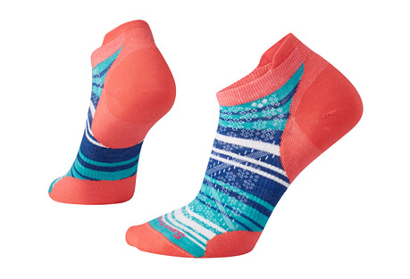 Smartwool PhD Run Ultra Light Stripe Micro Socks - Women's