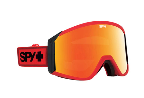 spy optic raider goggles- Save 48% Off - Raise the flag, get ready to plunder, and unsheathe this oversized cylindrical goggle with a vengeance. Massive Scoop(R) vents and a bonus lens give you the edge in any situation.  Features:  - Frame Color:  Red/Black  - Primary Lens:  Bronze with Red Spectra  - Secondary Lens:  Persimmon  - Built from flexible polyurethane  - Features the Scoop(R) ventilation system  - Anti-fog cylindrical dual-lens with anti-scratch protection  - Free bonus lens  - Triple-layer Isotron(TM) face foam with moisture-wicking Dri-Force(TM) fleece  - Silicone-ribbed strap  - 100% UV protection  - Helmet compatible with the most popular helmets on the planet.  - Last Chance: Discontinued Style