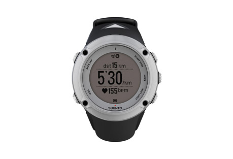 suunto ambit2 watch- Save 36% Off - Suunto Ambit2 is the GPS for explorers and athletes. All you need for outdoor sports - navigation, speed, heart rate, altitude, weather conditions and features for running, biking and swimming. Thousands of Suunto Apps available to add new functionalities to your watch. Packed in a glass fiber reinforced casing with a battery life of 16/50 hours, Ambit2 is ready for any adventure.  Features   - Time, date, alarm, dual time  - Multiple UI languages (EN, DE, ES, FI, FR, IT, NL, PT, SV)  - GPS timekeeping  - Positive / negative display switch  - User-adjustable backlight  - Versatile button lock  - Low battery indicator  - Metric and imperial units  - Power save modes  - Adjustable recording of HR and baro/alti (1 s, 10 s)  - Data transfer and charging with USB cable  - Watch settings & customization*  - Advanced post-analysis of exercise*  - Training logbook with story and image support*  - New functionalities with software upgrades* TRAINING  - GPS-based speed, pace and distance  - Real-time, average and max. heart rate   - Calories   - Heart rate limits   - Heart rate graph in real time   - Peak Training Effect & Recovery Time   - Manual & autolaps  - Chrono  - Countdown timer  - Interval timer  - GPS track analysis*  - Heart rate zones*   - EPOC & V02 max values*   MULTISPORTS   - Swapping of sport while logging and exercise  - Preconfigured multisport modes  - Sports comparison*  - Post-analysis of multisport exercise by sport*  - Interactive map and charts by sport/section of an exercise*  - ANT+(TM) and Suunto ANT support for PODs  - ANT+(TM) logoThis product is ANT+(TM) certified.  RUNNING   - Responsive running pace/speed (FusedSpeed(TM))  - Running cadence with Foot POD  - Lap comparisons by each kilometer/mile*  - Ghost Runner (Suunto App)  - Marathon End-time Estimator (Suunto App) CYCLING   - Multiple Bike POD support (Suunto ANT/ANT+(TM))  - Bike Power (W), average and maximum  - Bike Power 3 s, 10 s, 30 s  - Bike lap a