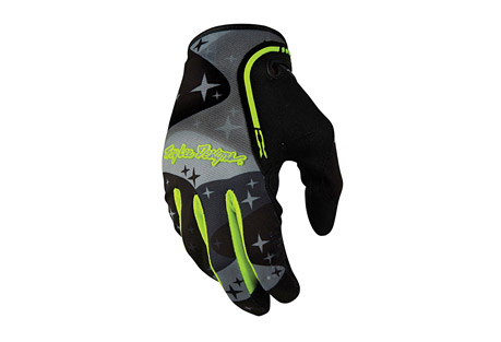troy lee designs xc glove cosmic camo- Save 50% Off - Troy Lee Designs gloves are all researched, designed and meticulously tested before they make their way on to the hands of great athletes around the world. The acute attention to detail paired with a fearless sense of style and design make for a superior quality product. With a vast selection of colors, construction and levels of protection, there is a perfect fit for every individual.  A new evolution of the original, the XC is a big favorite amongst  the team riders out there. A combination of stretch spandex and Airprene material make the XC a fantastic, lightweight, all-purpose glove that is great for both motorcycle and bicycle riding.  Features:  - Self dyed 2-way stretch spandex body  - Dual layer perforated Clarino  synthetic leather palm  - Sonic-welded TPR graphics on top of hand and fingers  - Velcro wrist closure  Sizing:  - Small: 6.5 - 7.5 in.  - Medium: 7.5 - 8.5 in.  - Large: 8.5 - 9.5 in.  - X-Large: 9.5 - 10.5 in.  - XX-Large: 10.5 - 11.5 in.  - Measure circumference of the palm, do not include thumb