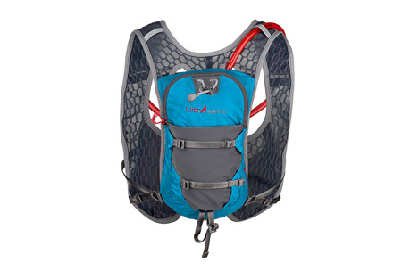 ultraspire astral pack- Save 53% Off - Finally, a vest that doesn't squish the chest while providing comfortable fit and style for beautifully fit people of all sizes and shapes. The Astral features a new soft touch binding, large quick stash with increased pack capacity without increased weight or bulk, trade marked and patented pending Max O2 Sternum, new easy in and out bladder holder, new easy durable strap keeper, and a soft micro fiber mesh body with even bigger holes enables greater circulation, cooling and breathability than ever before.  Features:  - Primary construction of soft, large holed, micro-fiber mesh fabric that makes for lower pack weight and huge cooling and breathability!  - Soft touch perimeter edging for a polished look, and a nonrestrictive feel.  - Patent-Pending Max O2 Sternum(TM): Sternum attachment system with enhanced recoil for better range of motion, quick in and out, boot hook type attachment system, adjust once and lock down to eliminate further fuss even when taking on and off.  - Small internal zippered pocket for keys, lip balm or other essentials.  - Large zippered main compartment  - Bladder hanger system: Lightweight, easy and fast method of attaching bladder inside pack. No struggling to detach or reattach bladder. Great for aid stations and lightning fast refills.  - Lightweight front pockets and quick stash pockets have more stretch and capacity without added bulk or weight.  - Sweat-proof side compression straps.  - Curve(TM) harness: Breathe easier! Designed to free the chest from the pressure of pockets, weight, bounce and excess fabric. Also provides some support when properly worn for that purpose.   - Includes a 2L bladder.  - Total volume 5.5 liters  - Dimensions:  10
