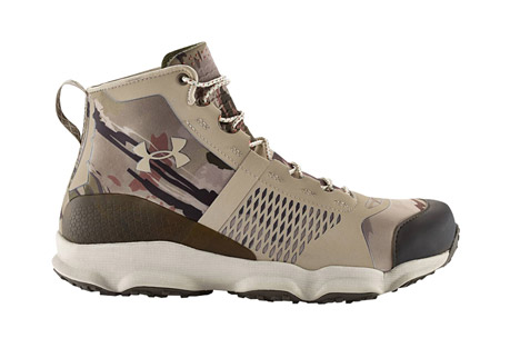 under armour speedfit hike boots - men's- Save 39% Off - The Under Armour SpeedFit Hike Boots are designed for outstanding multi-directional traction. The upper is anatomically molded for a precise fit, and equipped with a TPU toe cap for protection. An external heel counter provides support.  Features:  - Anatomically molded upper with ultrasonic welded seams & welded forefoot overlay to give you a superior fit  - External heel counter for support & a locked-down fit  - Molded Ortholite(R) sockliner is designed with a memory foam top & PU base  - Aggressive traction lugs, engineered for unrivaled off-road grip & stability  - TPU toe cap  - Height: 5.5