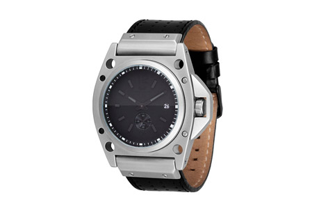 Vestal Decibel Watch   black/matte silver/black, one size