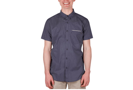 Wilder & Sons Kiger Short Sleeve Button Down Shirt - Men's