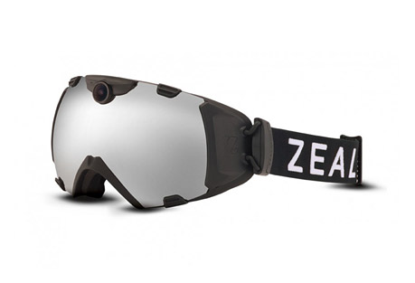 zeal hd camera goggle- Save 25% Off - The HD Camera Goggle by ZEAL is born out of the need to continually evolve and lead the industry through technology that does more than just exist, it redefines how you see the mountain.  Goggle Features  - Anti-Fog Infused Lens Process  - Impact Resistant Frame Technology  - High Density Lens Technology  - 100% UV Protection  - Helmet Compatible  - Dual Strap Adjustments  - Optimum(TM) Lens Camera Features  - Captures 1080p & 720p HD quality video   - Shoots 12 megapixel HD photos   - 170-degree wide angle camera lens   - Camera automatically adjusts for light levels and has infinity focus   - Utilizes an in-goggle viewfinder   - Controlled by glove-ready buttons on the side of the frame   - Rechargeable lithium-ion battery has a three-hour run time, depending on usage  - Easily integrates with all social media outlets to share your memories