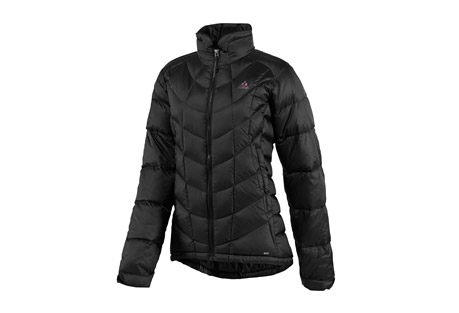 Adidas Hiking Down Jacket   Womens   black/black, small