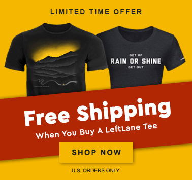 Your Entire Order Ships Free When You Buy A LeftLane Sports Tee - Shop Now