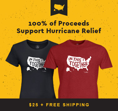 100% of Proceeds to Disaster Relief Efforts
