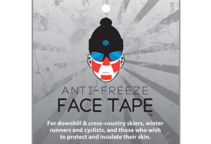 Face Tape Frostbite Protection