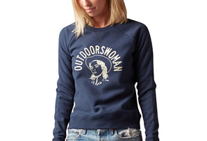 Outdoorswoman Crew Sweater - Women's