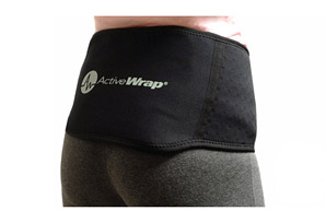 Back Ice/Heat Wrap w/2 Large Ice Packs Package
