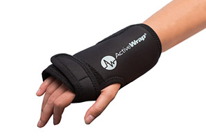 Wrist Ice Wrap & 2 Heat/Ice Pack Package
