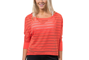 Flow Dolman Stripe T - Women's