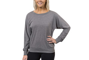 Lounge Inspire Bateau Neck Pullover - Women's