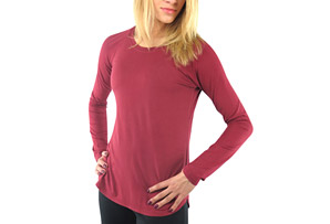 Finesse Long Sleeve Tee - Women's