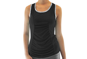 Inspire Shirred Panel Tank - Women's
