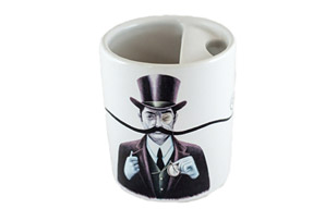 Turn of the Century Man Mug