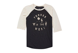 Yonder West Baseball Tee - Women's