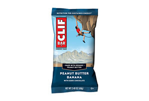 CLIF Peanut Butter Banana w/Dark Chocolate Bar - Box of 12
