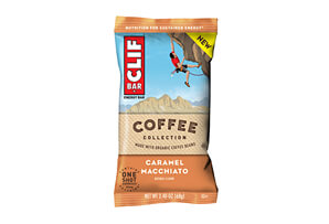CLIF Caramel Macchiato Bar w/Caffeine - Box of 12