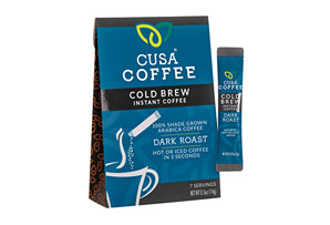Cusa Coffee Dark Roast Cold Brew Coffee w/Caffeine - Box of 7