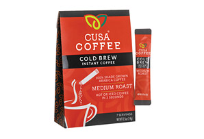 Cusa Coffee Medium Roast Cold Brew Coffee w/Caffeine - Box of 7