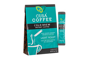 Cusa Coffee Light Roast Cold Brew Coffee w/Caffeine - Box of 7