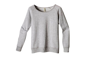 Heathered Fleece Raglan - Women's