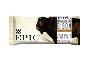 Bison Bacon Cranberry Bars - Box of 12